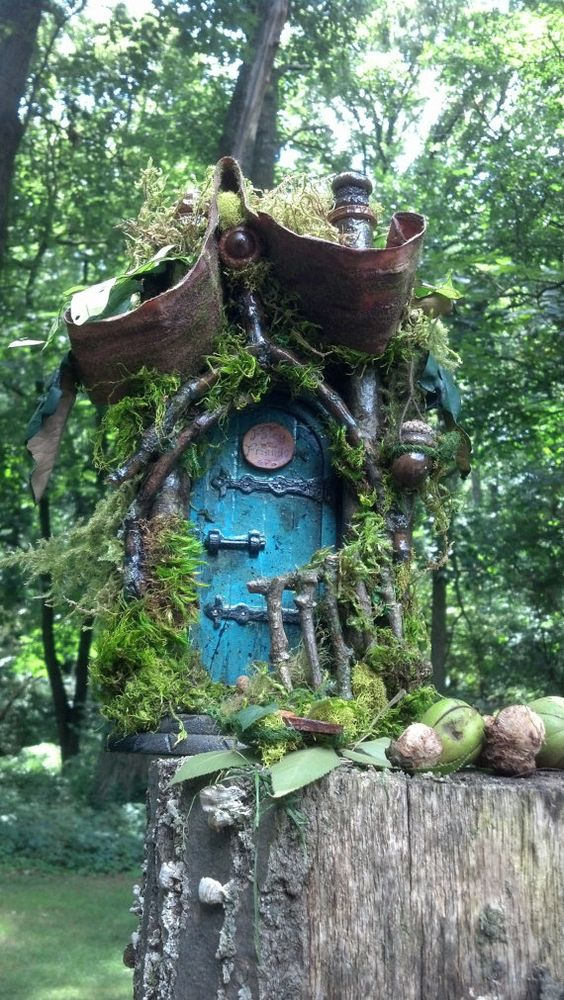 Pinterest the world s catalog of ideas for Fairy doors for sale