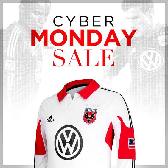 Cyber Monday sales...this one for DC United.