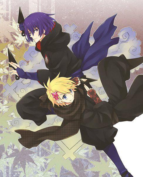 UtaPri ~~ More musical ninja :: Masato and Syo