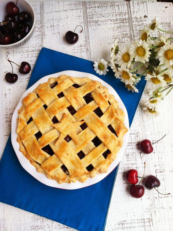 4th of July cherry pie