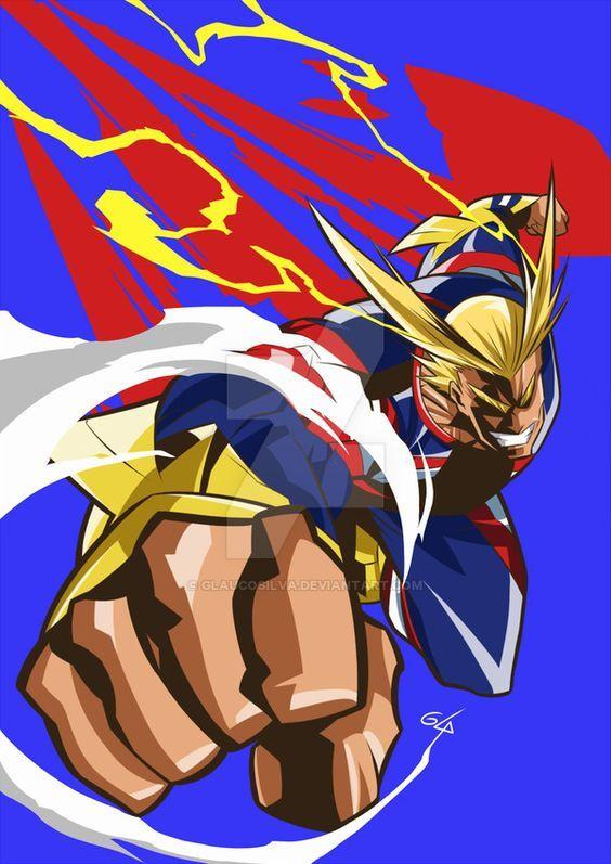 All Might My Hero Academia Mha Bnha Anime Plusultra My Hero Boku No Hero Academia Hero Wallpaper