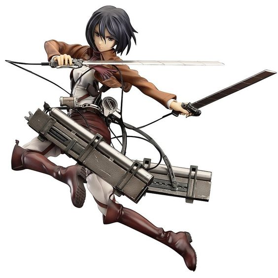 COOL JAPAN SHOP - Attack on Titan Mikasa Ackerman 1/8 Scale PVC Figure, $152.65 (http://www.cooljapan-shop.com/attack-on-titan-mikasa-ackerman-1-8-scale-pvc-figure/)