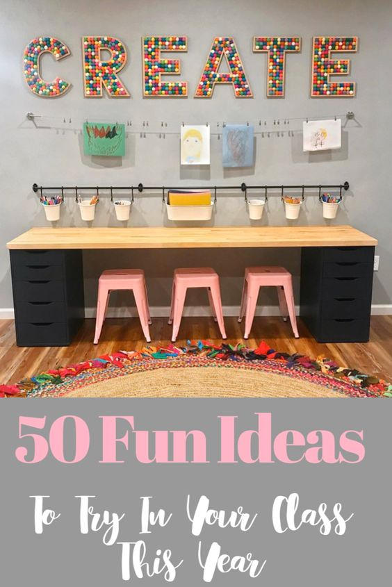 Looking for some new classroom ideas? Find the best ideas for classroom organization, classroom decoration, classroom management, fun ideas and more. Incorporate the last idea in your class and it will change your life! #classroomideas