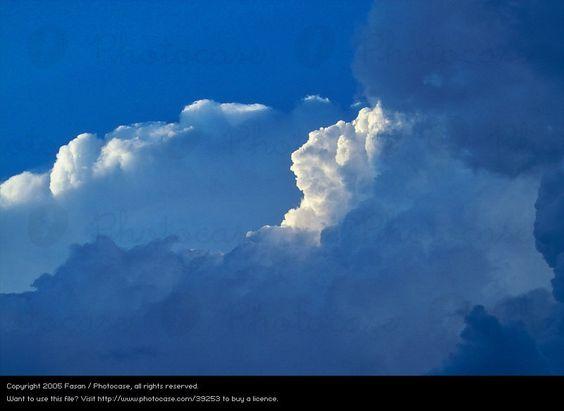 Photo 'Wolkenformation' by 'Fasan'