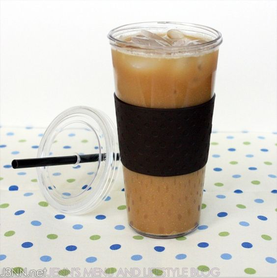 Only 27 Calories: 24oz Super Sweet Iced Coffee