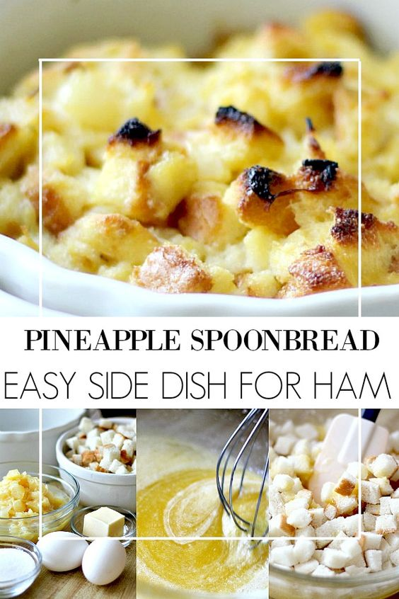 Pineapple Spoonbread | Grateful Prayer | Thankful Heart