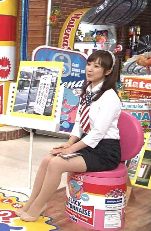 川田裕美アナウンサーの?ヘアバンド