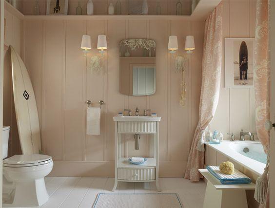 Beach Home Bathroom Bathroom Ocean Theme Pinterest