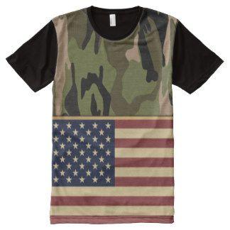 Camuflaje de la bandera americana