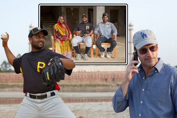 Rinku Singh and Dinesh Patel grew up in rural villages and had never even heard of the game - now their story has been made into movie Million Dollar Arm