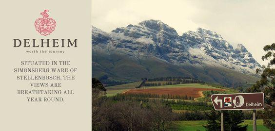 Stellenbosch Wine Route: Delheim, Wine Tasting Restaurant, Südafrika, South Africa