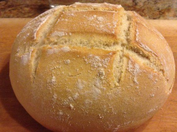 Pan casero rústico