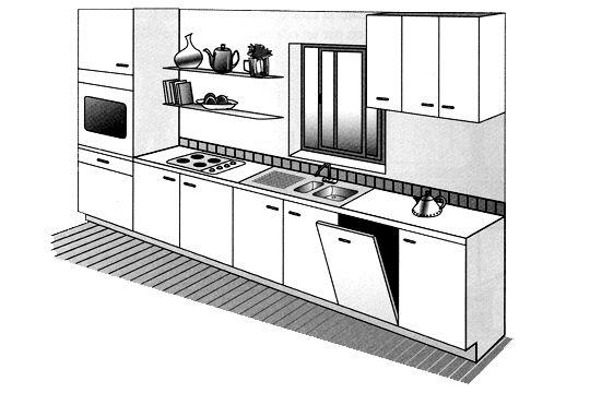 plans de cuisine
