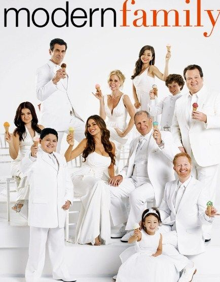 Modern Family. Watch it with the kids for the best conversations about everything in life that you will ever have.:
