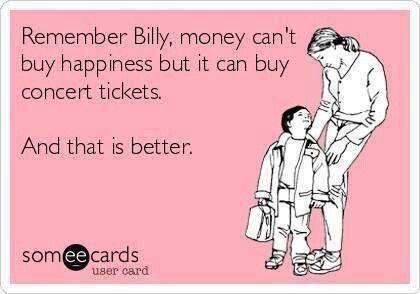 Afbeeldingsresultaat voor buying concert tickets stress