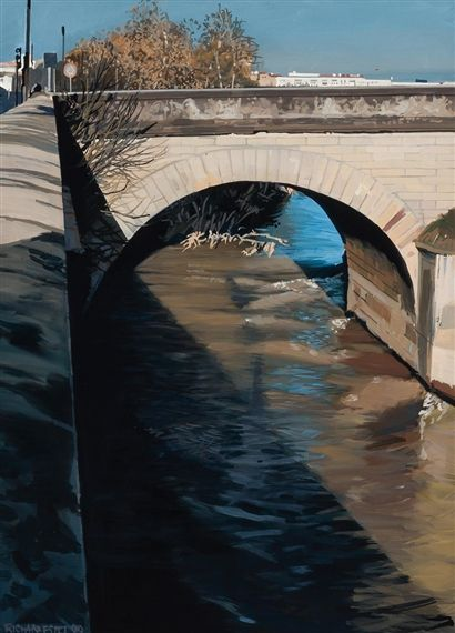 Richard Estes, Under the Bridge
