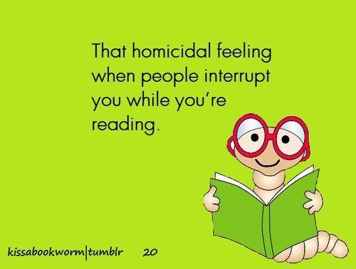 Homicidal indeed.