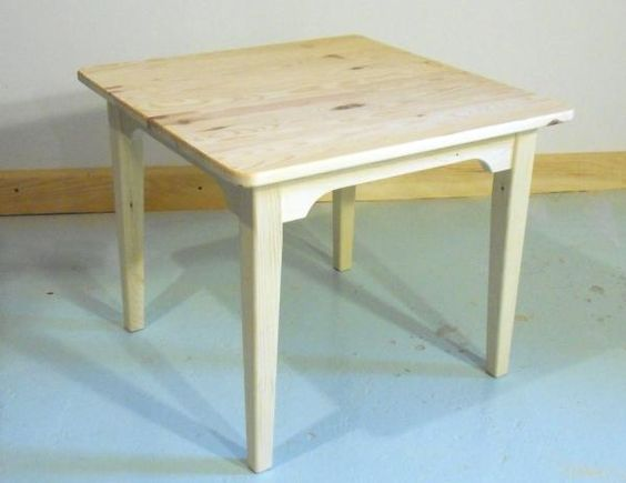 Building a children's table