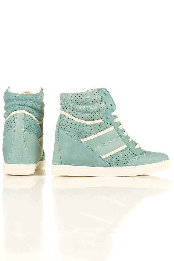 I'm not a high tops girl, but these are really cute.