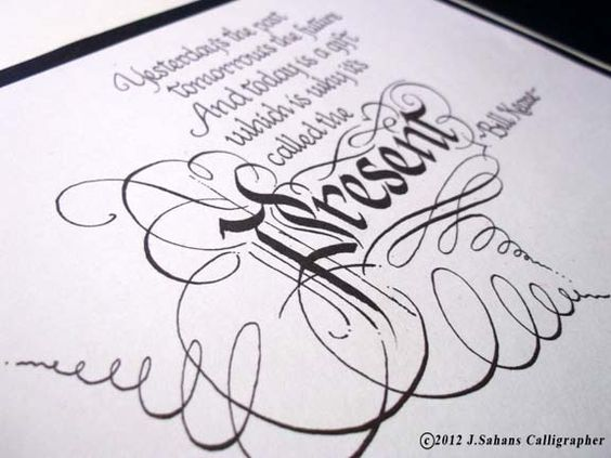 Inspirational quotations calligraphy by jagdeep sahans via