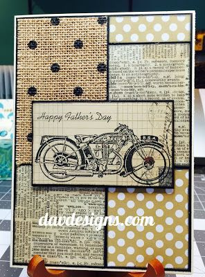 DAV Designs: OSAT BLOG HOP-HAPPY FATHER'S DAY