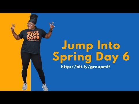 Jump Into Spring Day Jump Rope Challenge Day 6 Youtube In 2020 Jump Rope Jump Rope Challenge Challenges