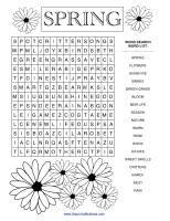 More spring home school printables