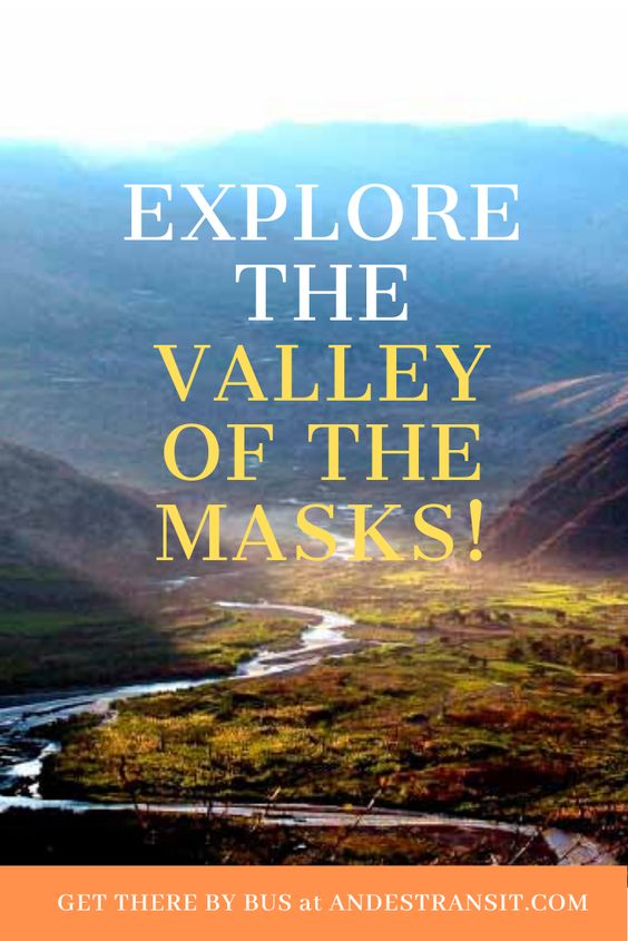 Discover the valley where cultural masks are made with mud and wood (Pinterest)