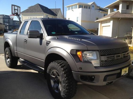 Ford F-150 SVT Raptor. EVENTUALLY will be mine