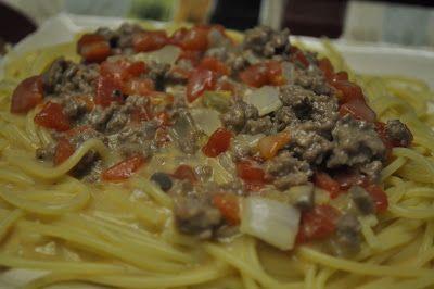 Beth's Favorite Recipes-Firehouse Spaghetti
