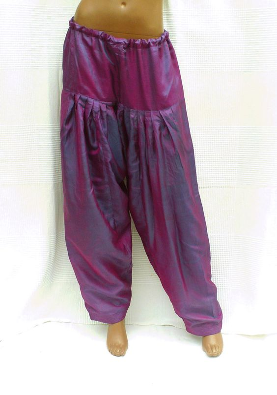 Pantalon Ample Femme Indien