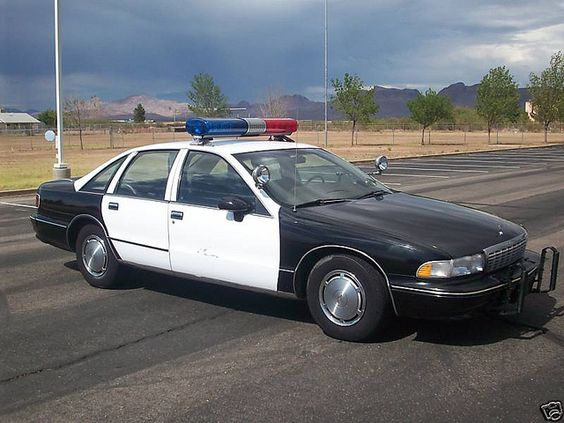 1993 Chevrolet Caprice Police Car