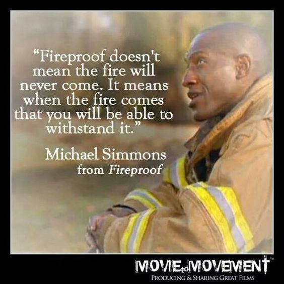 Albany Georgia Sherwood Baptist Church creates Fireproof....when the fire comes you'll be able to withstand it