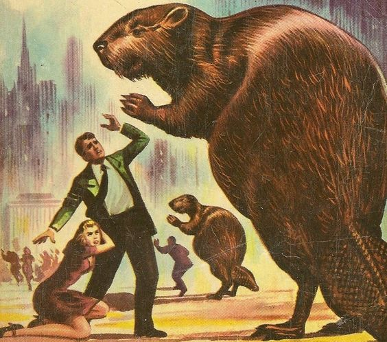 Giant killer beavers??!: