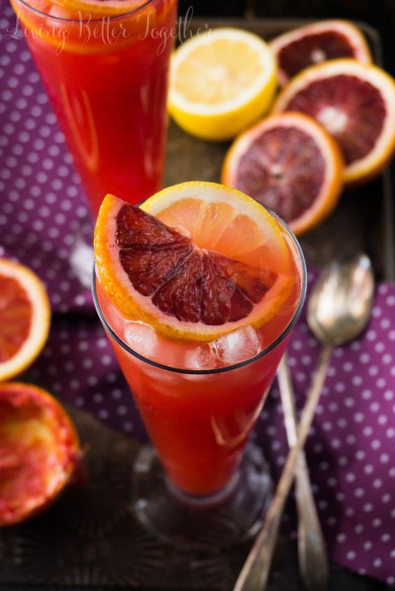 Blood Orange Citrus Tango Cocktail | Community Post: 21 Bloody Delicious Blood Orange Recipes #whami #smoothies