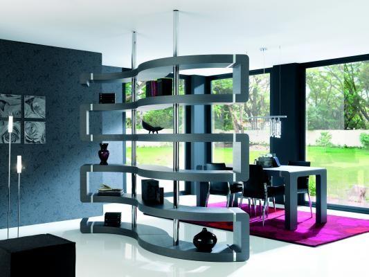 muebles separadores de ambientes - Buscar con Google  Muebles curvos  Pinte...