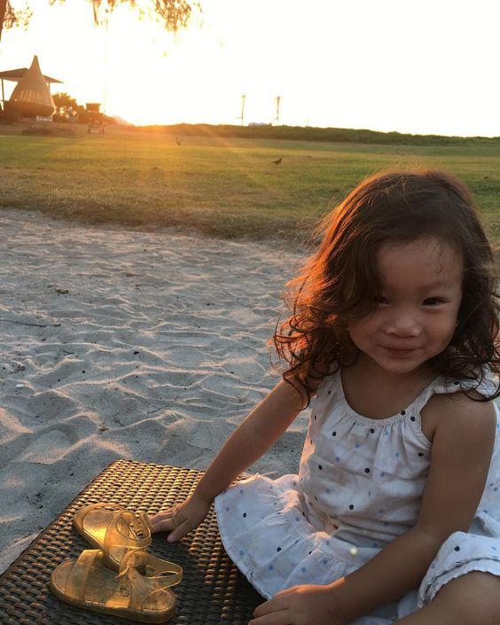 Sunset portrait .....