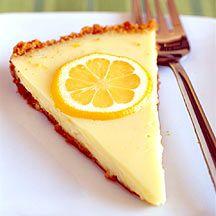 Weight Watcher Lemon pie - Yum!