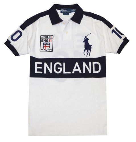Polo Ralph Lauren Men Custom Fit Big Pony T-Shirt - ENGLAND $109.00 - $109.99