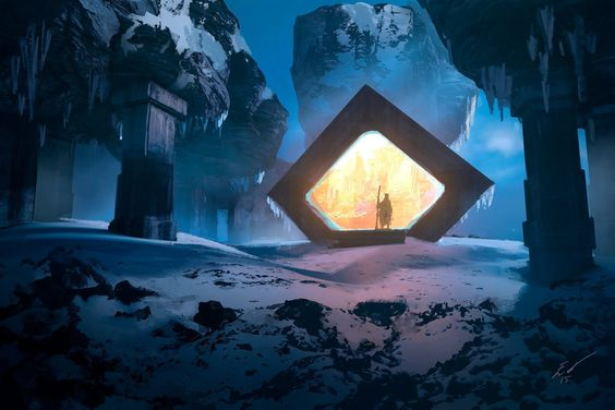 ArtStation - The Portal Picture Collection, Espen Olsen Sætervik: