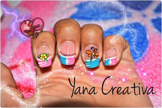 Decoraciones de Uñas Libelula - Yana - Nail Art