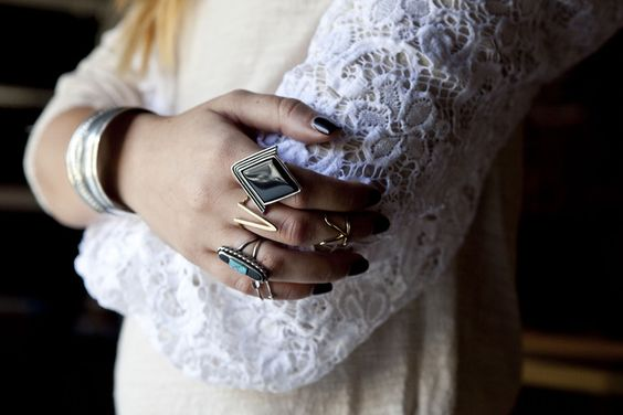 Pile on those accessories. Shop our faves: http://wstlnd.ca/stackitup
