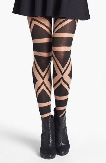 Have fun with some patterns! Pretty Polly 'Patriotic' Tights available at #Nordstrom $25