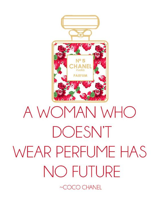 perfume chanel no 5 and perfume quotes on pinterest