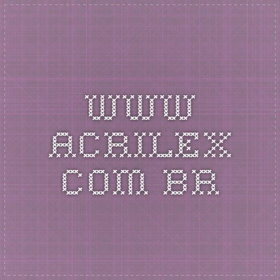 www.acrilex.com.br