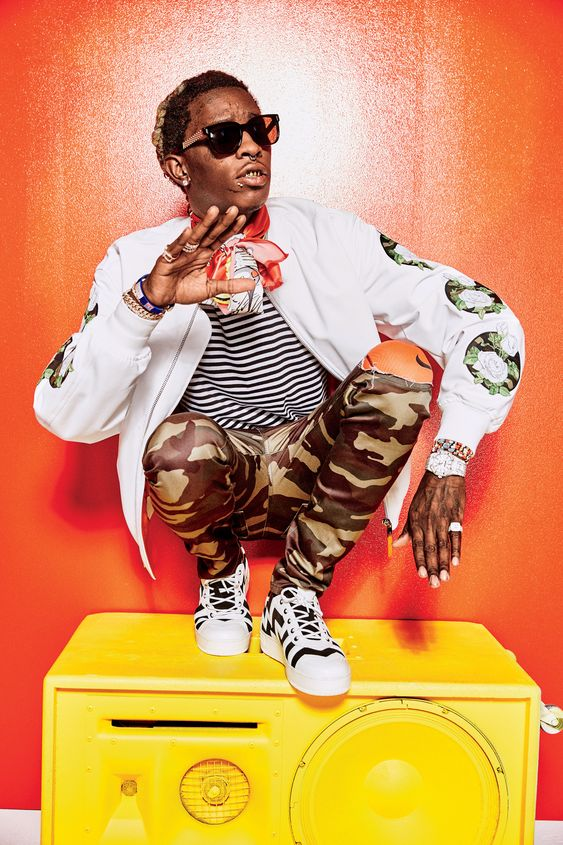 Young Thug Proves High Fashion Has Gone Crazy (Which Makes Total Sense   GQ