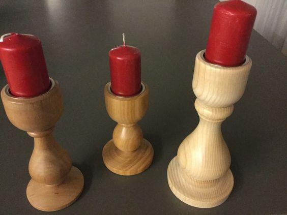 Kerzenständer Holz Wood drechseln turning