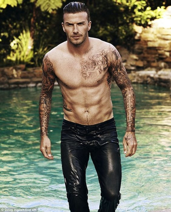 ELLO GOVNA!    david beckham by doug inglish elle uk july 2012 1 pic on Design You Trust