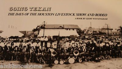 Houston Livestock Show And Rodeo 1930 Poster Print Art