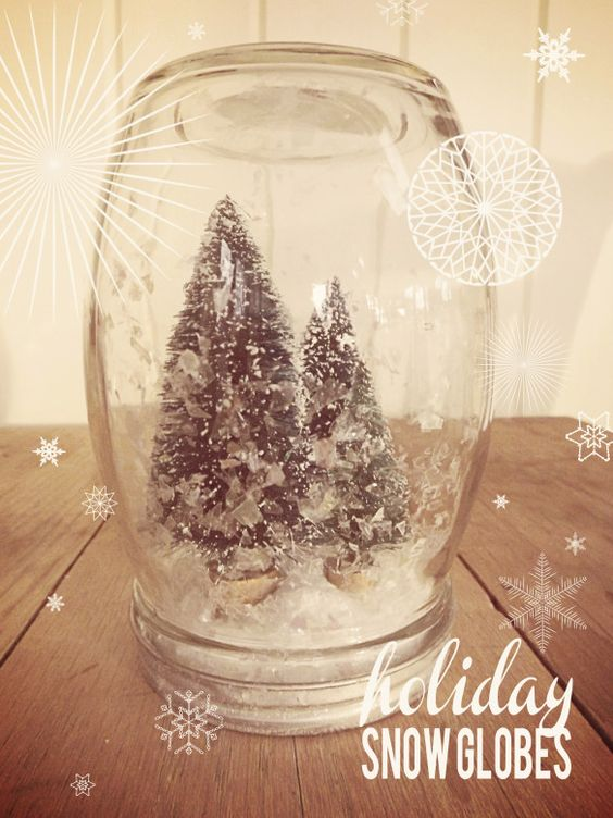 holiday snow globes brossie belle